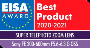 Sony FE 200-600/5.6-6.3 G OSS -objektiv